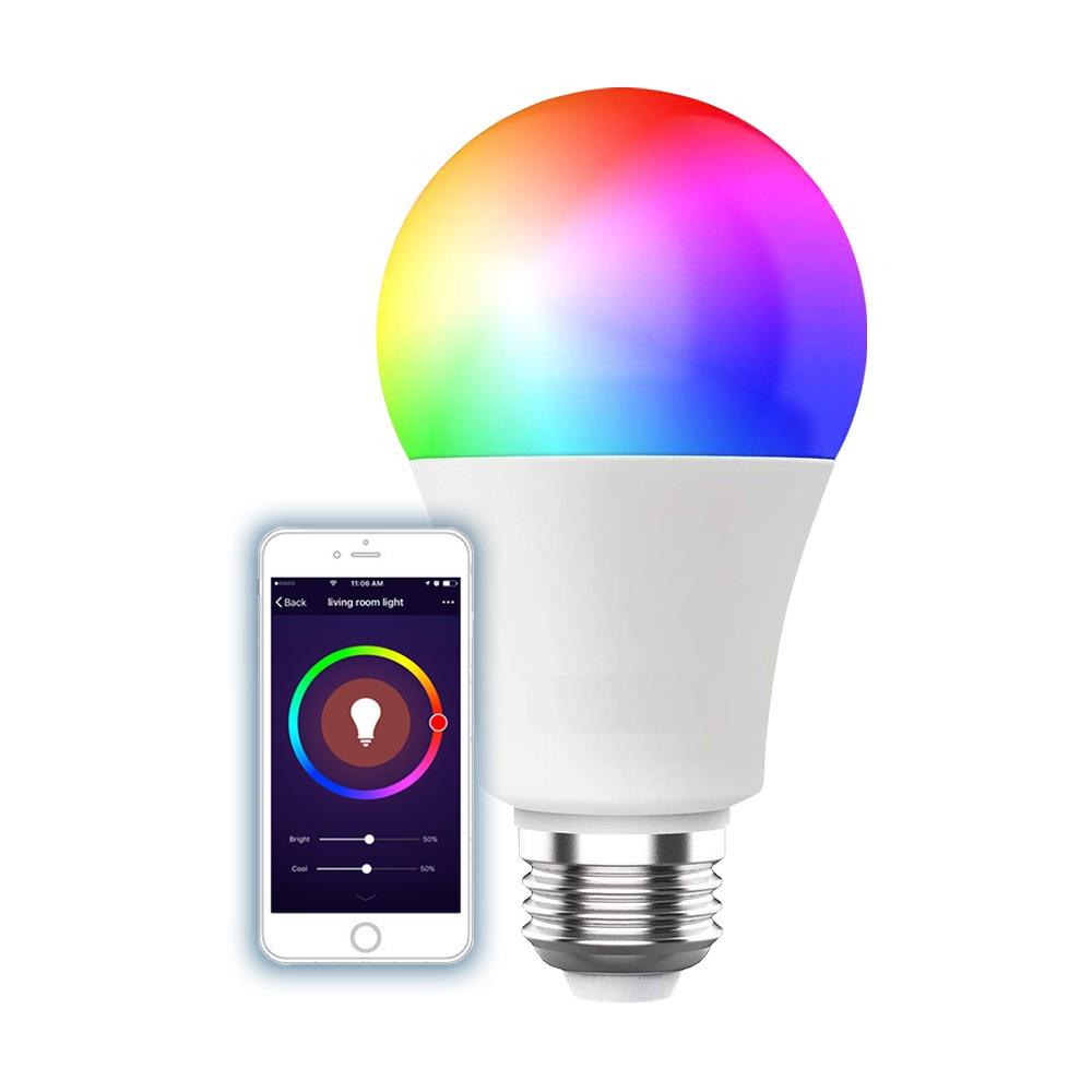Lampada Inteligente WIFI Colors Led Smart 9w Bivolt QTOUCH