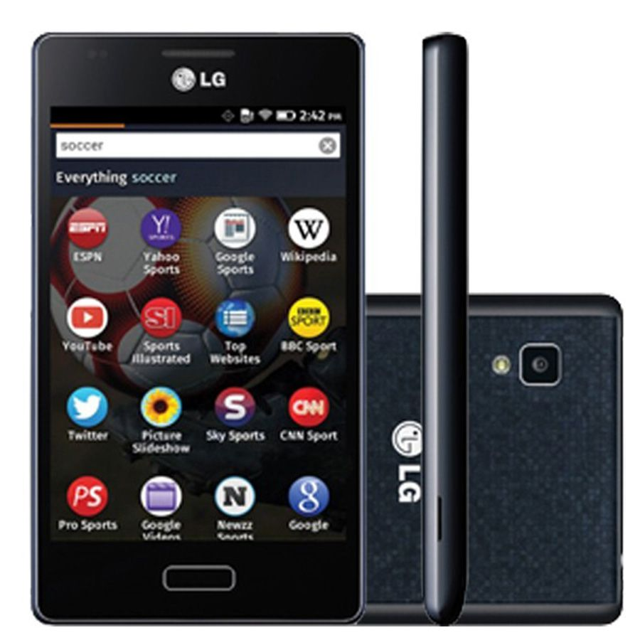 Lg D300 Fireweb Os 5mp Com Flash 3g Wi-fi Mp3 4gb Usado