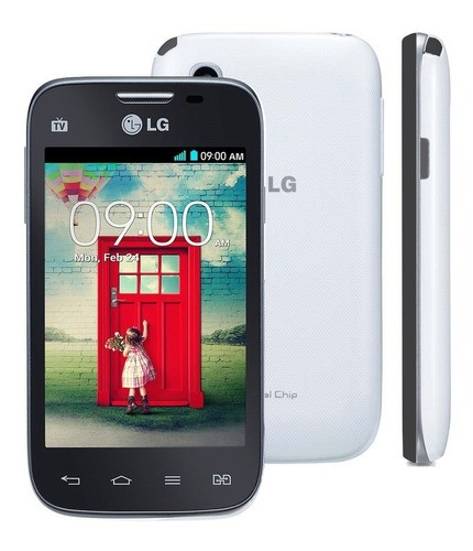 LG L35 D157 Dual Chip Tela 3,2' 4gb Wi-fi 3g 3mp Usado