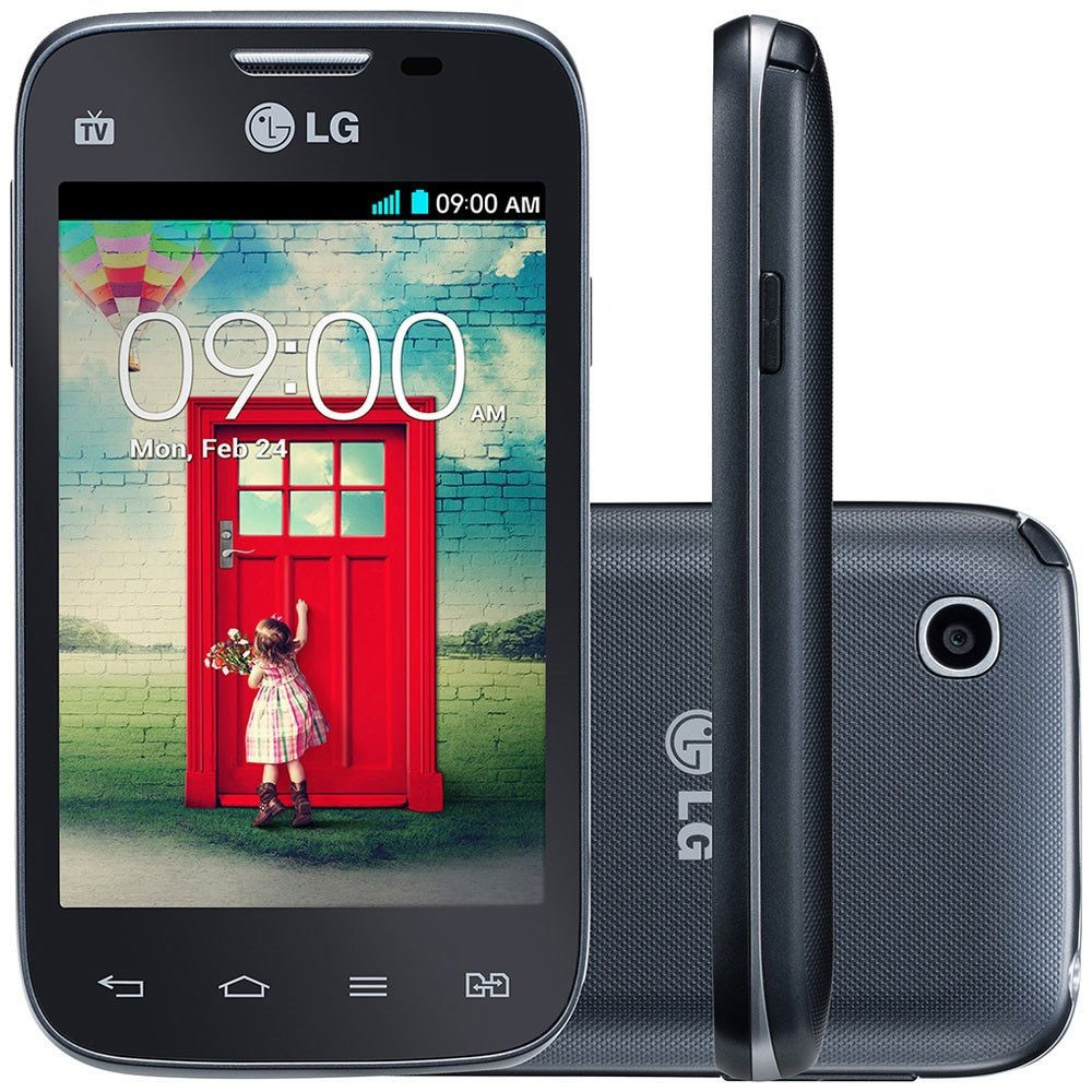 LG L35 D157 TV 3G Dual Tela 3.2 4GB Wi-fi Android (Outlet)