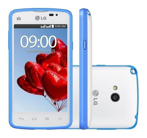 LG L50 D227 3G Dual 4GB Tela 4 Android 4.4 Tv Digital Anatel (Outlet)