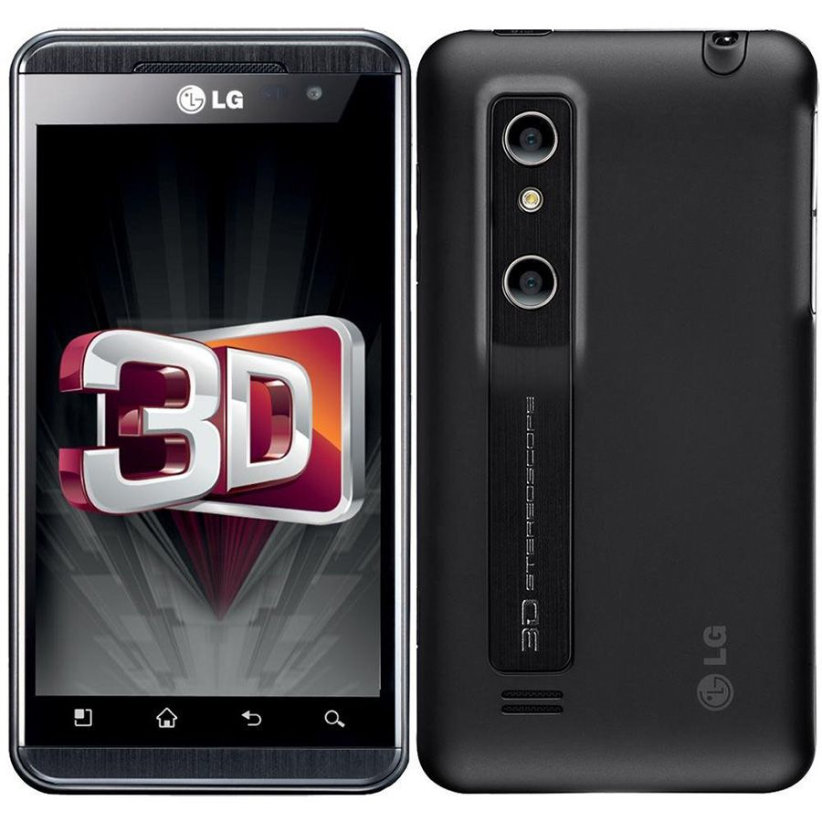 Lg Optimus 3d P920 Tela 4.3' 5mp Wi-fi 3g Mp3 8gb Seminovo