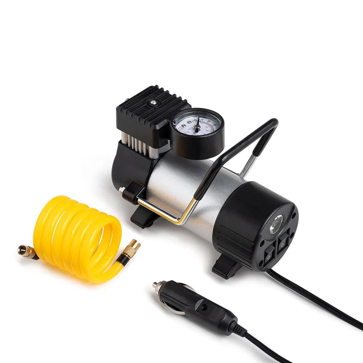 Mini Compressor De Ar 12V Portátil Automotivo Veicular Au616