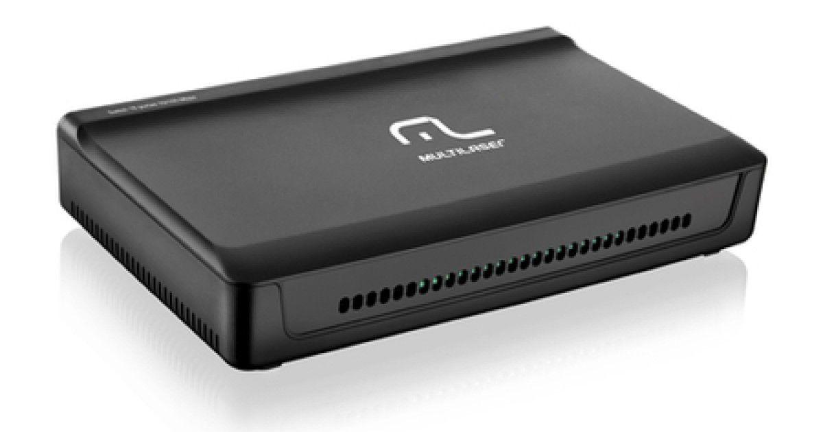 Switch Multilaser 16 Portas RE116 10/100 Mbps Bivolt  Novo