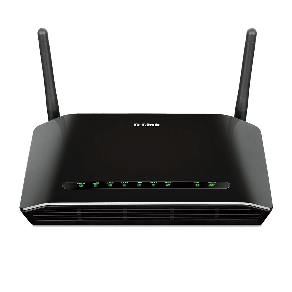 Roteador Wireless Wifi Adsl 300mbps D-link Dsl-2740e