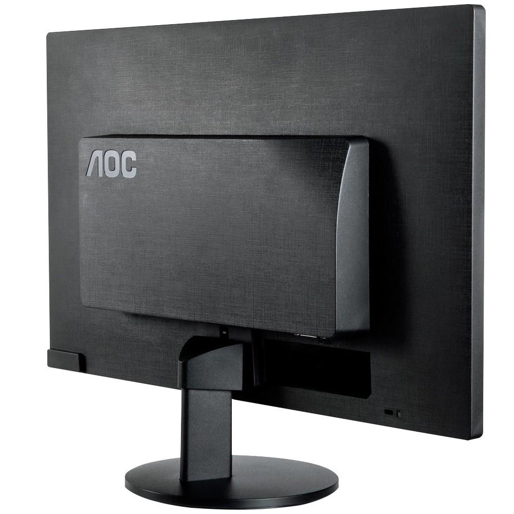 Monitor LED AOC Tela HD 18,5' 60Hz E970swnl Bivolt Novo