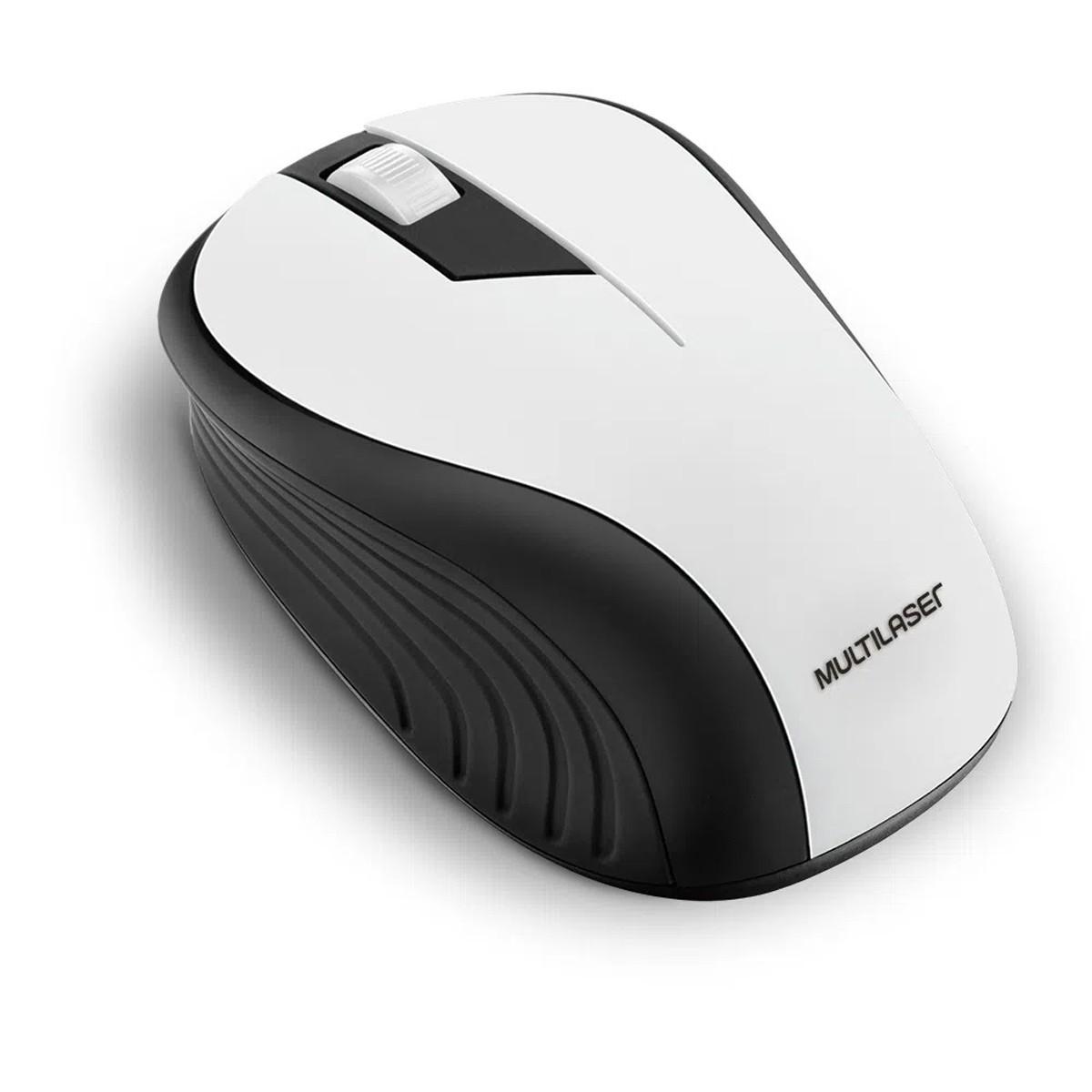 Mouse Óptico Multilaser USB Sem Fio 1200dpi - Wave MO216