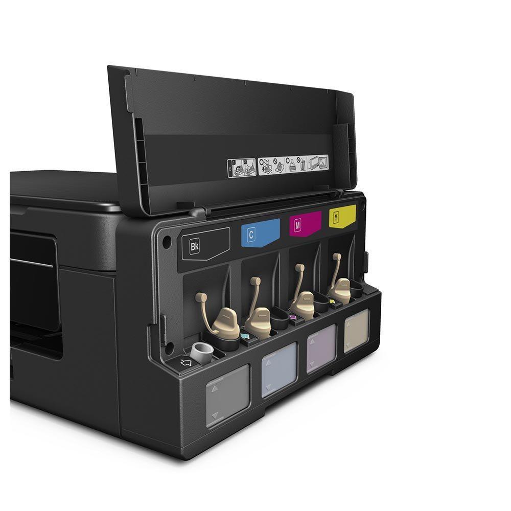 Impressora Multifuncional Epson EcoTank L395 Tanque de Tinta Colorida