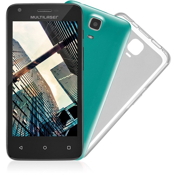 Multilaser Ms45 Colors 8GB Tela 4.5 Android (Outlet)