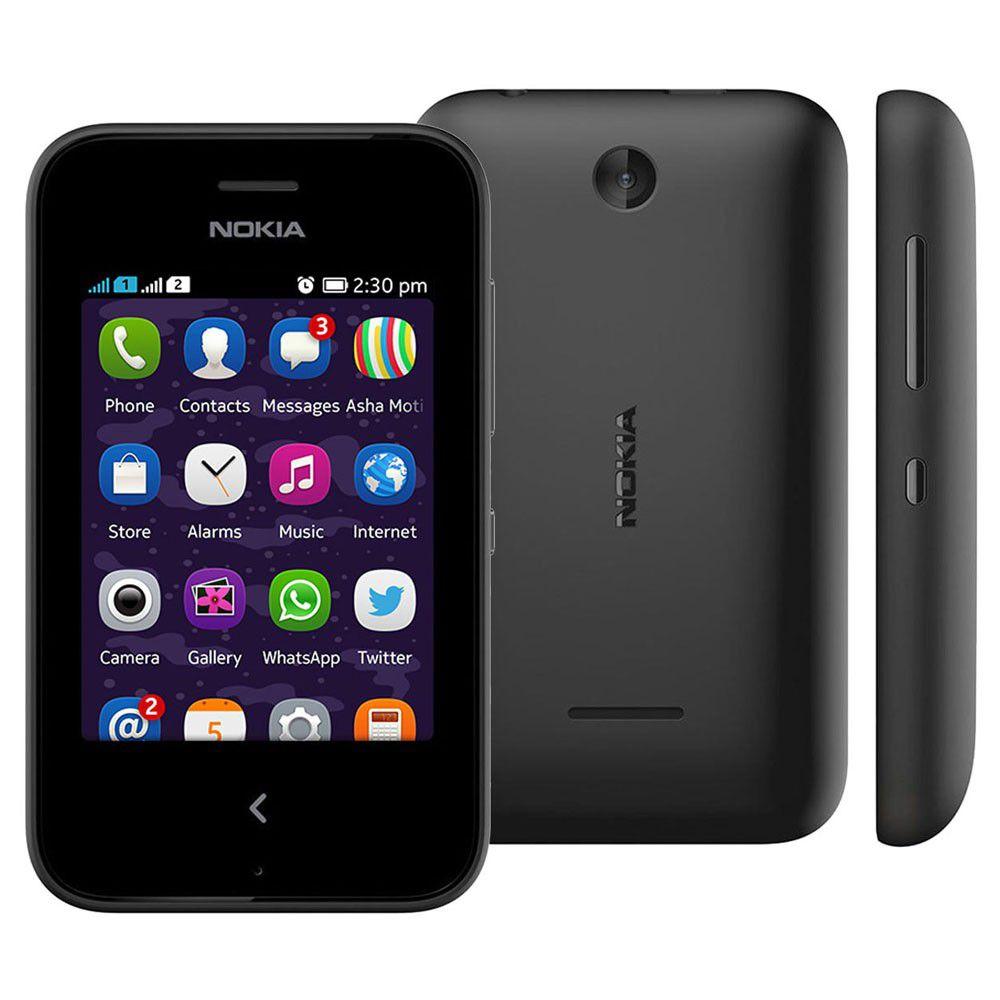Nokia Asha 230 Dual Chip Câmera 1,3mp Bluetooth Rádio Fm Usado