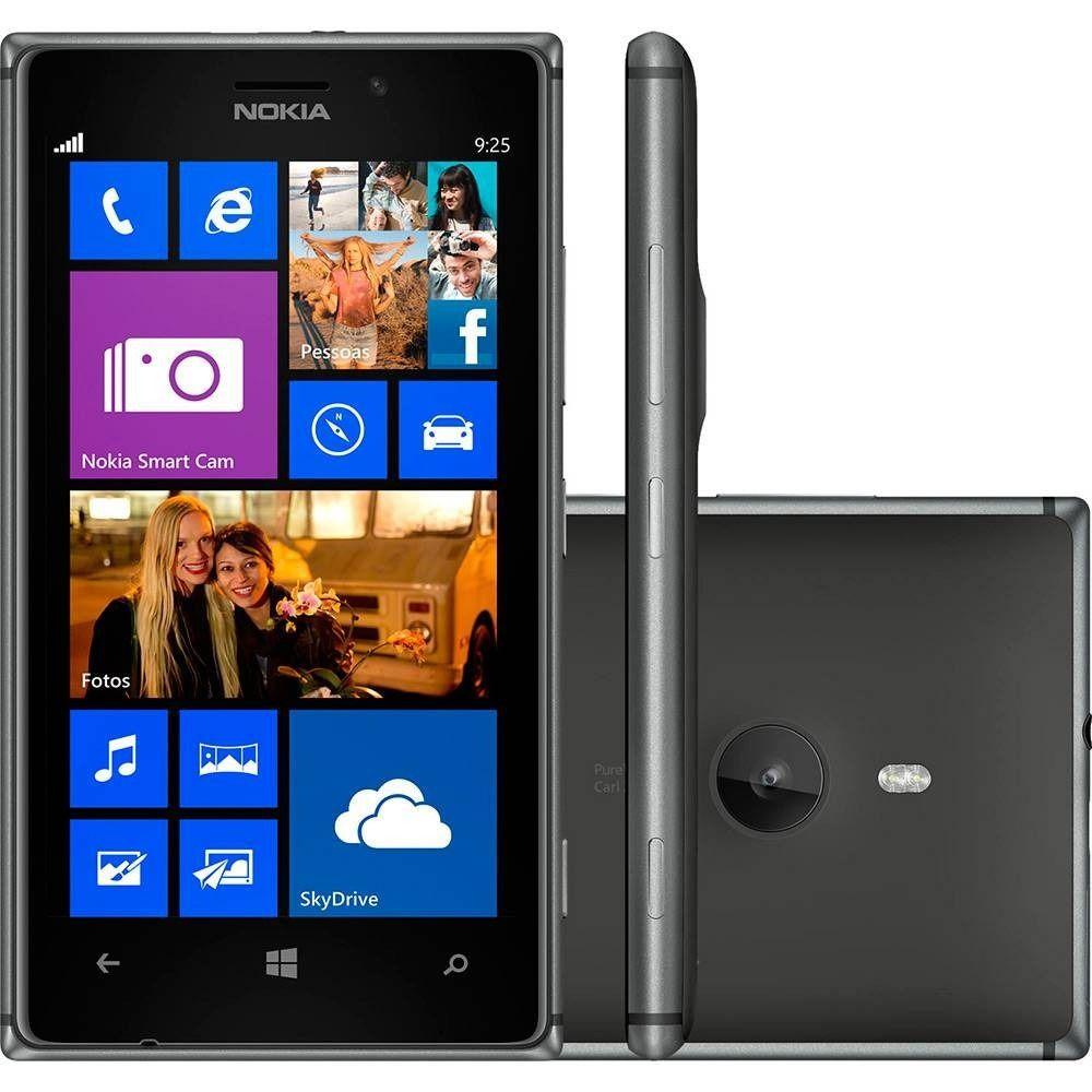 Nokia Lumia 925 4G Windows 8 16GB 1GB RAM Nfc Anatel (Open Box)