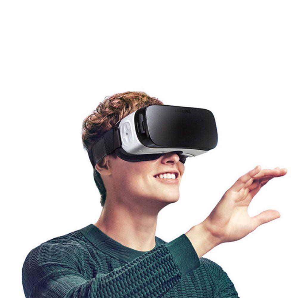 Óculos De Realidade Virtual Samsung Gear Vr Sm-r322 Branco Para S6 Edge+, S6 Edge E S6