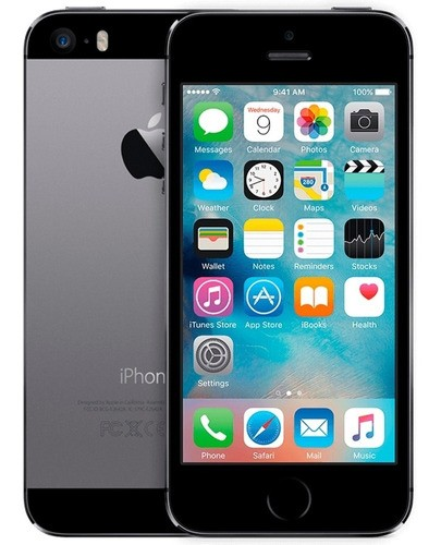 Smartphone Apple iPhone 5s 16GB iOS 12 (Recondicionado)