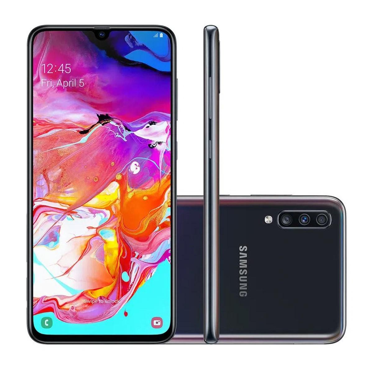 Samsung A705 Galaxy A70 Dual 128GB 6GB RAM Cam Tripla Anatel (Open Box)