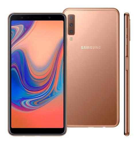 Samsung Galaxy A7 (2018) A750 Dual Sim 128 Gb Tela 6 (Excelente)