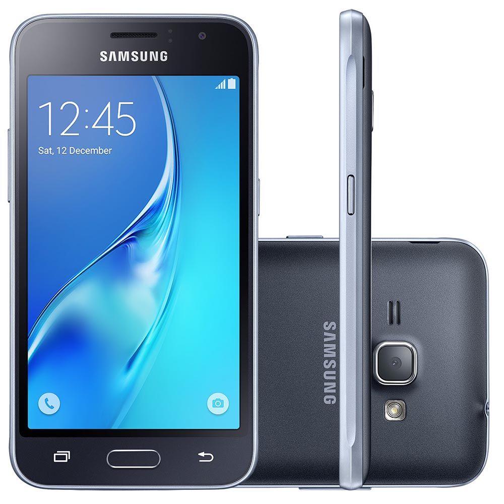 Smartphone Samsung J120 Galaxy J1 2016 Dual 8GB Tela 4.5 3G Wifi (Novo Open Box)