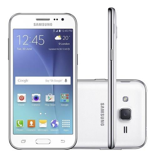 Samsung Galaxy J2 J200 Duos 8gb Tela 4.7 Redes Sociais Usado