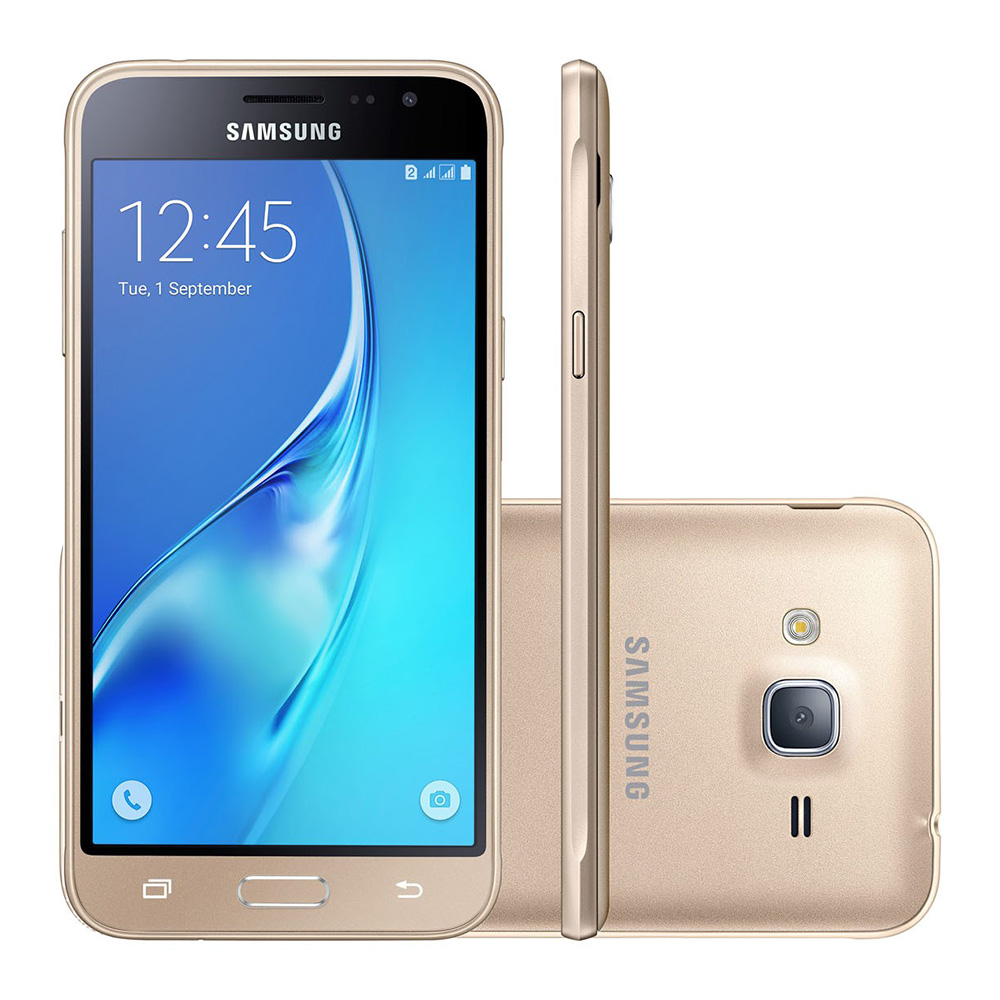 Samsung Galaxy J3 2016 Dual J320 8GB Tela 5' Wifi 4G (Outlet)