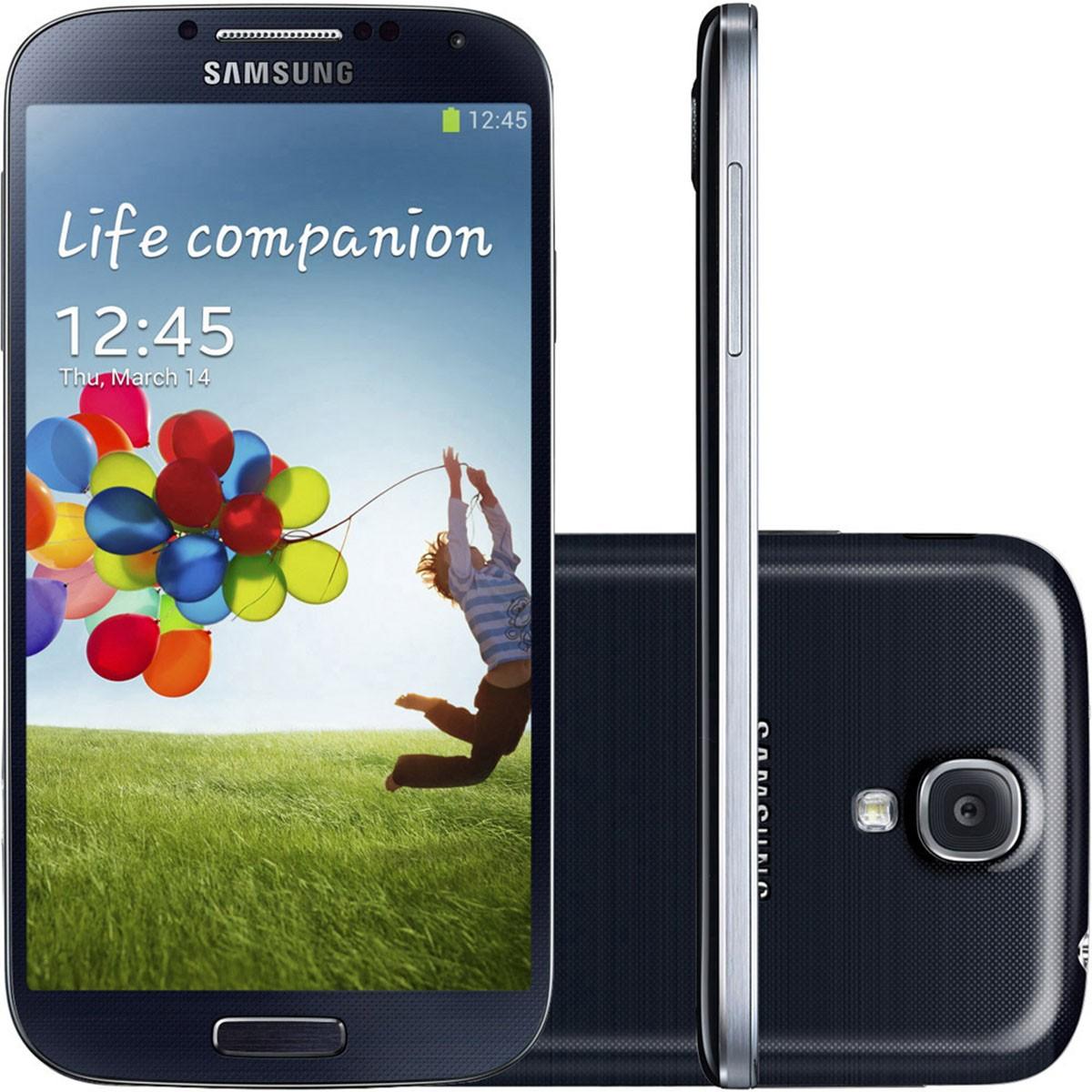 Samsung Galaxy S4 I9505 4g 16gb Outlet Burn-in Leve + Brinde
