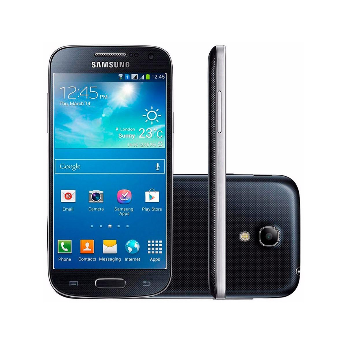 Samsung Galaxy S4 Mini I9195 8GB com Burn-in Leve (Outlet)