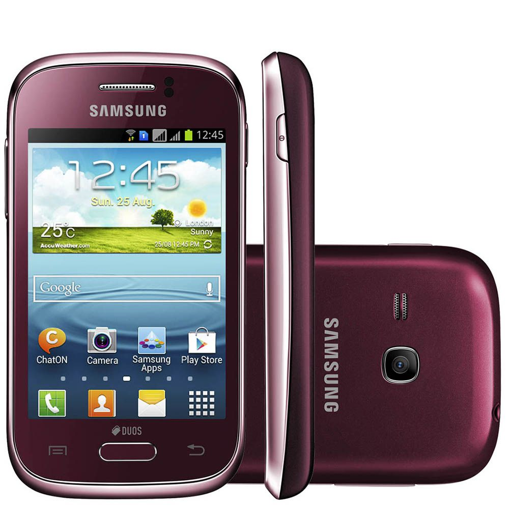 Samsung Galaxy Young Duos TV Digital 3G Gt S6313 4GB (Outlet)