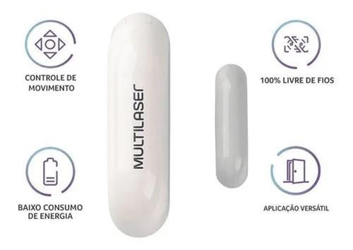 Sensor De Abertura Porta/janela Inteligente Multilaser Liv