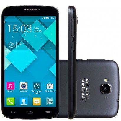 Smartphone Alcatel One Touch Pop C7 Dual 7040e 4gb Tela 5 Anatel Outlet + Cartão 32gb