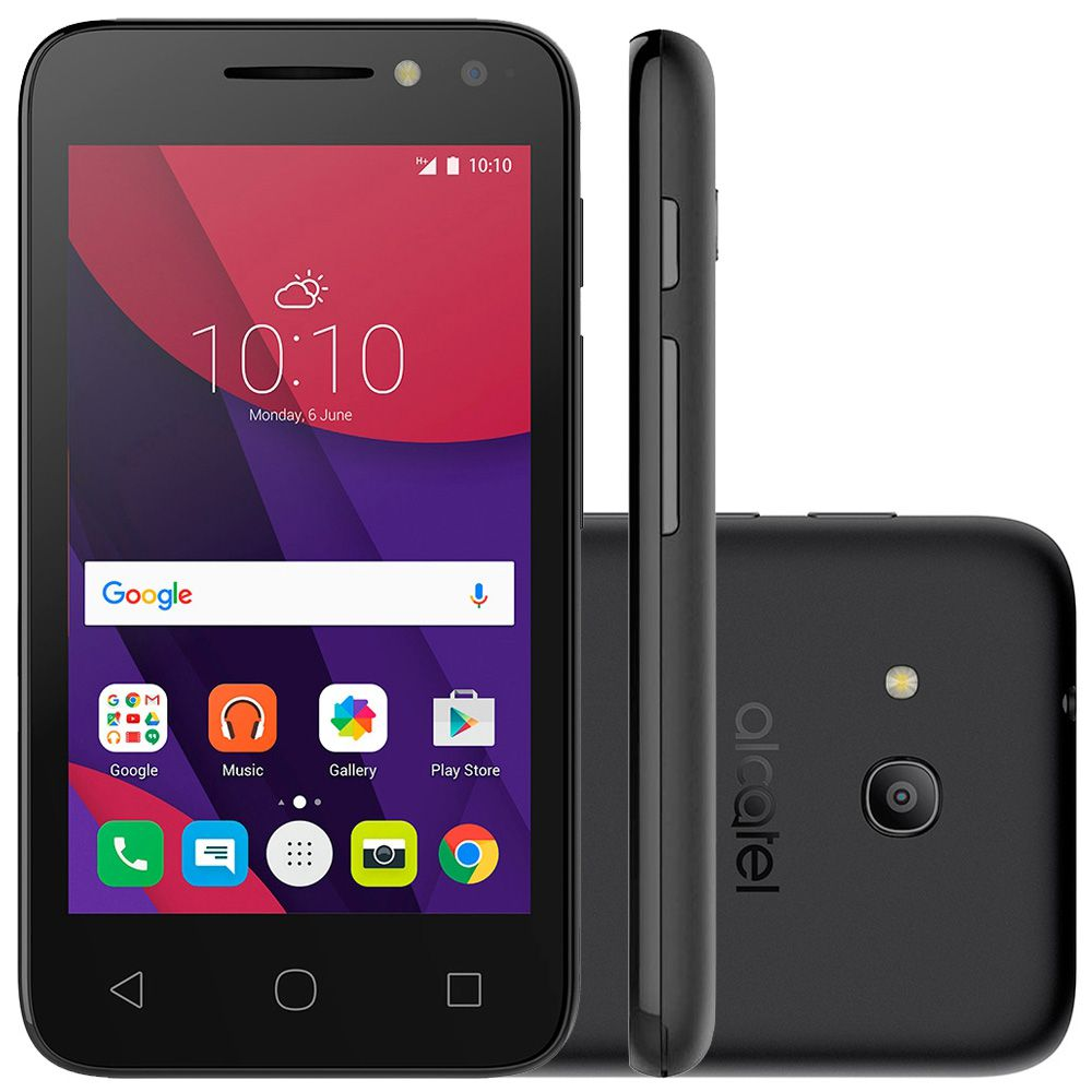 Smartphone Alcatel Pixi 4 4034E Tela 4.0' Dual Chip 8gb 8mp Novo de vitrine