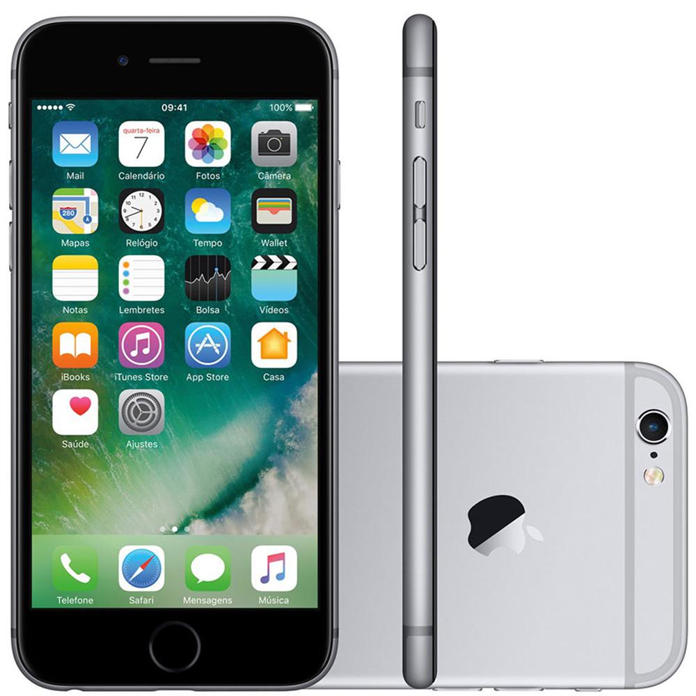 Smartphone Apple iPhone 6 64GB Tela 4.7' Cam 8MP (Recondicionado)