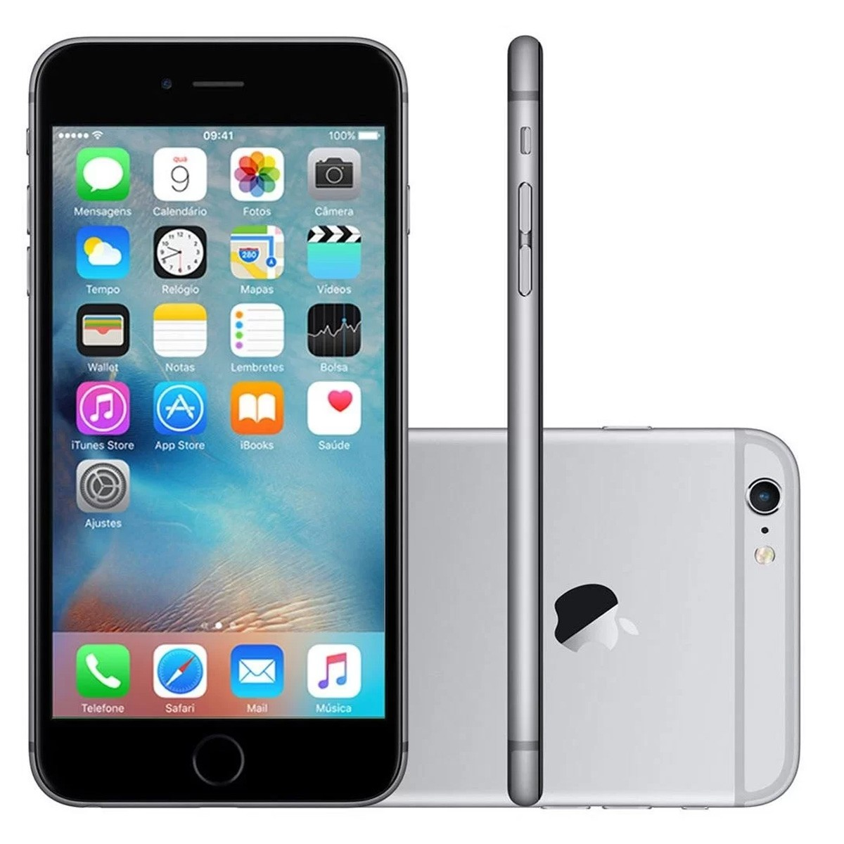 Smartphone Apple iPhone 6s 32GB Tela 4.7' 4G 12MP (Outlet)