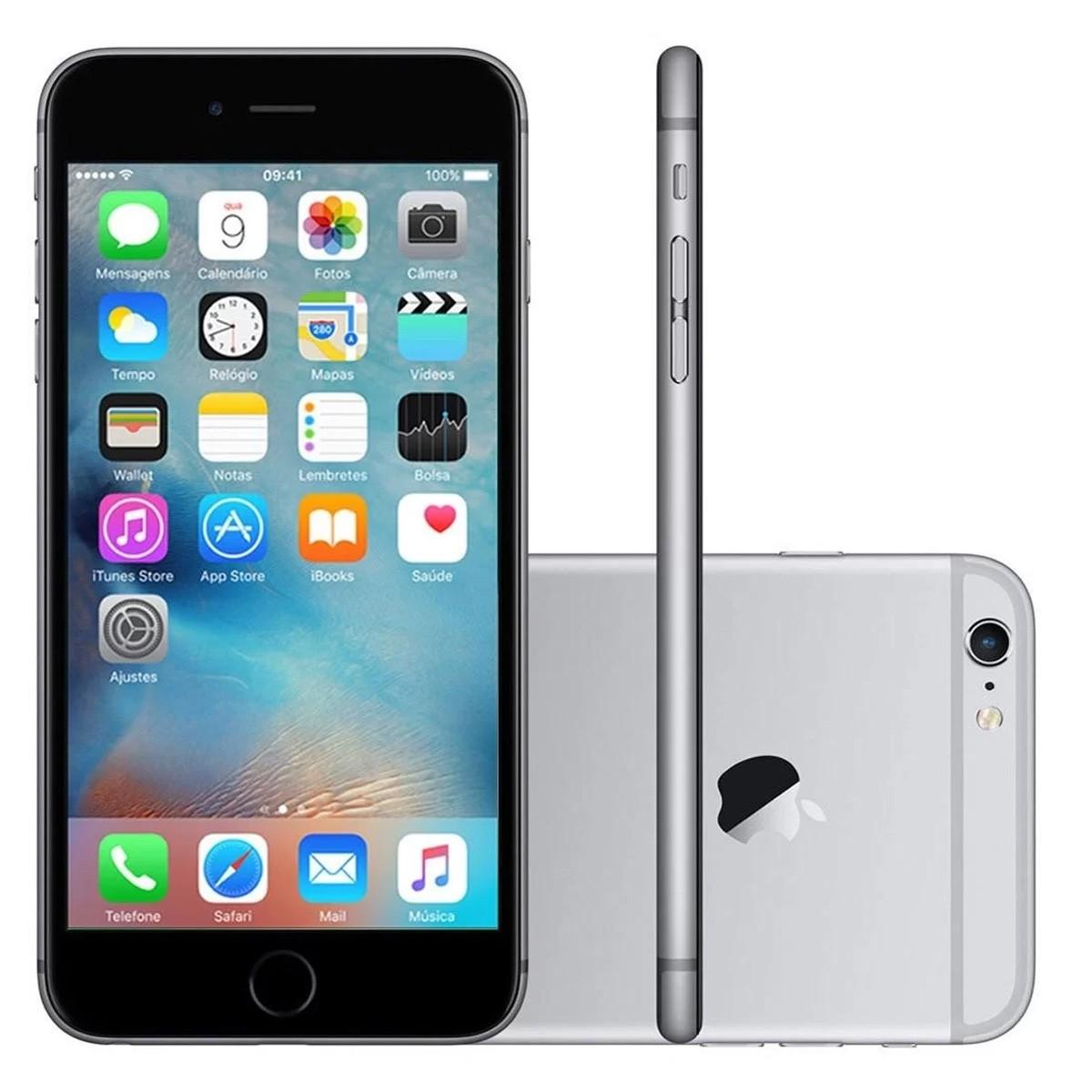 Smartphone Apple iPhone 6s 64GB 2GB RAM - Sem Touch ID (Recondicionado)