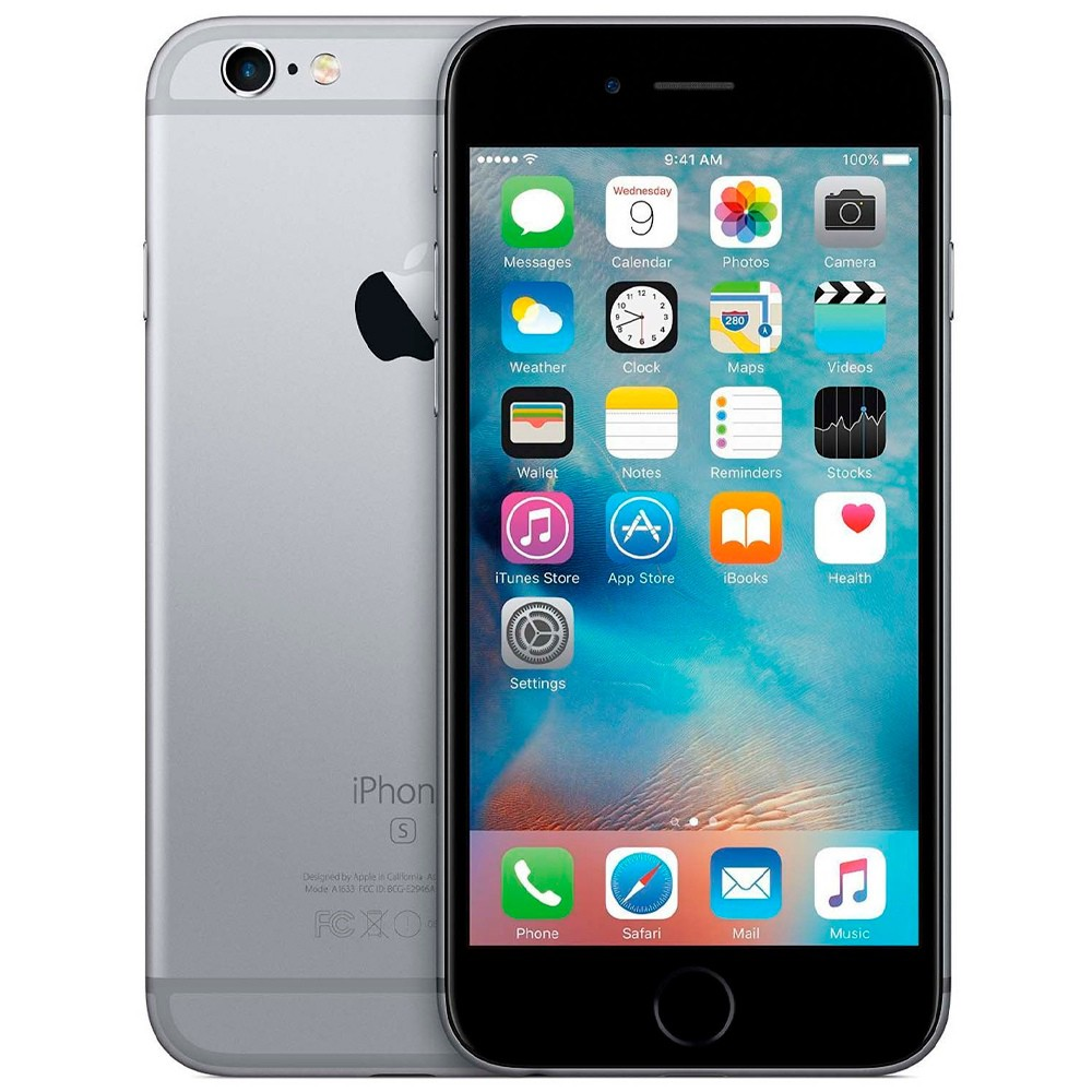 Smartphone Apple iPhone 6s 64GB Tela 4.7' 4G 12MP (Outlet)