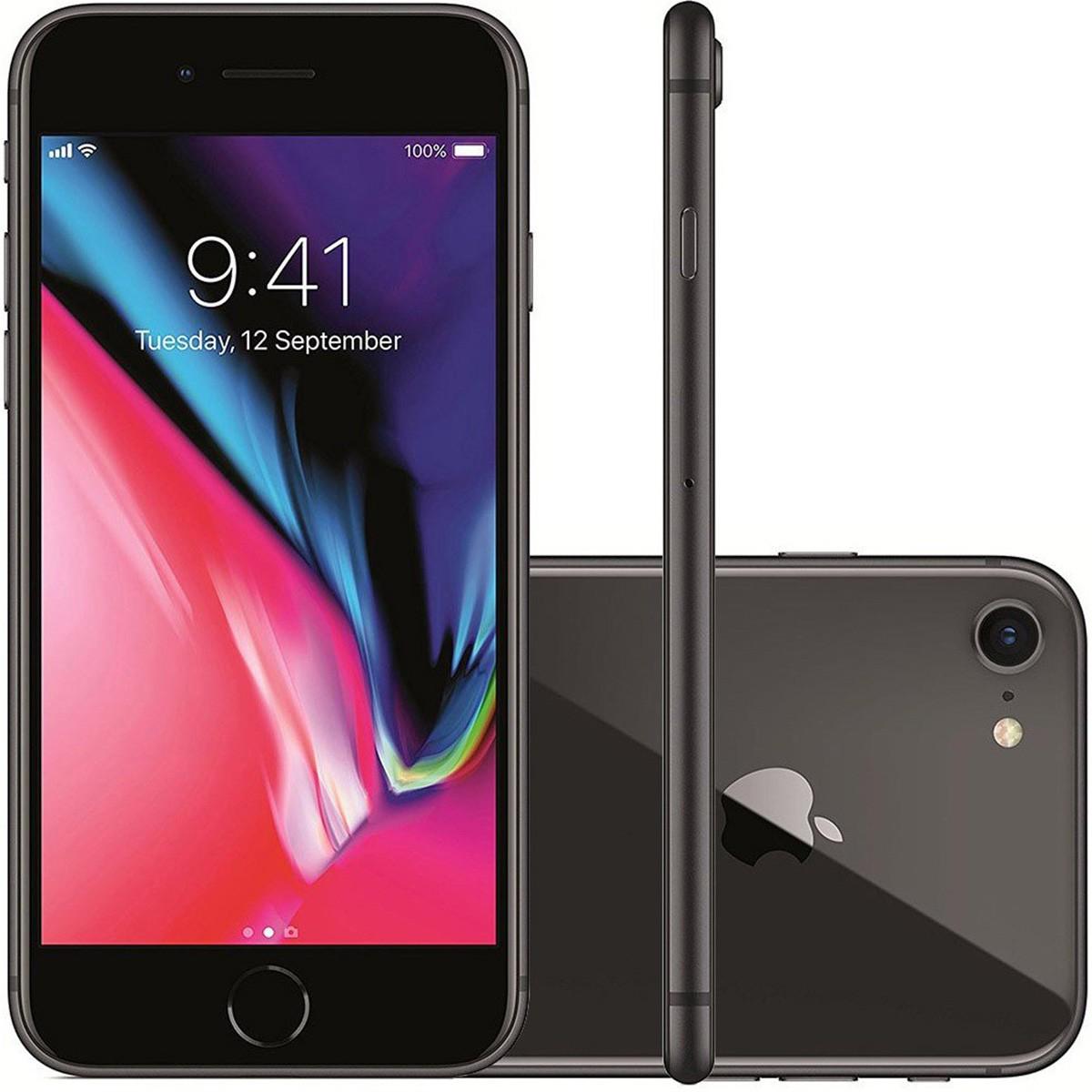 Smartphone Apple iPhone 8 256GB Tela 4,7' 12MP (Open Box)