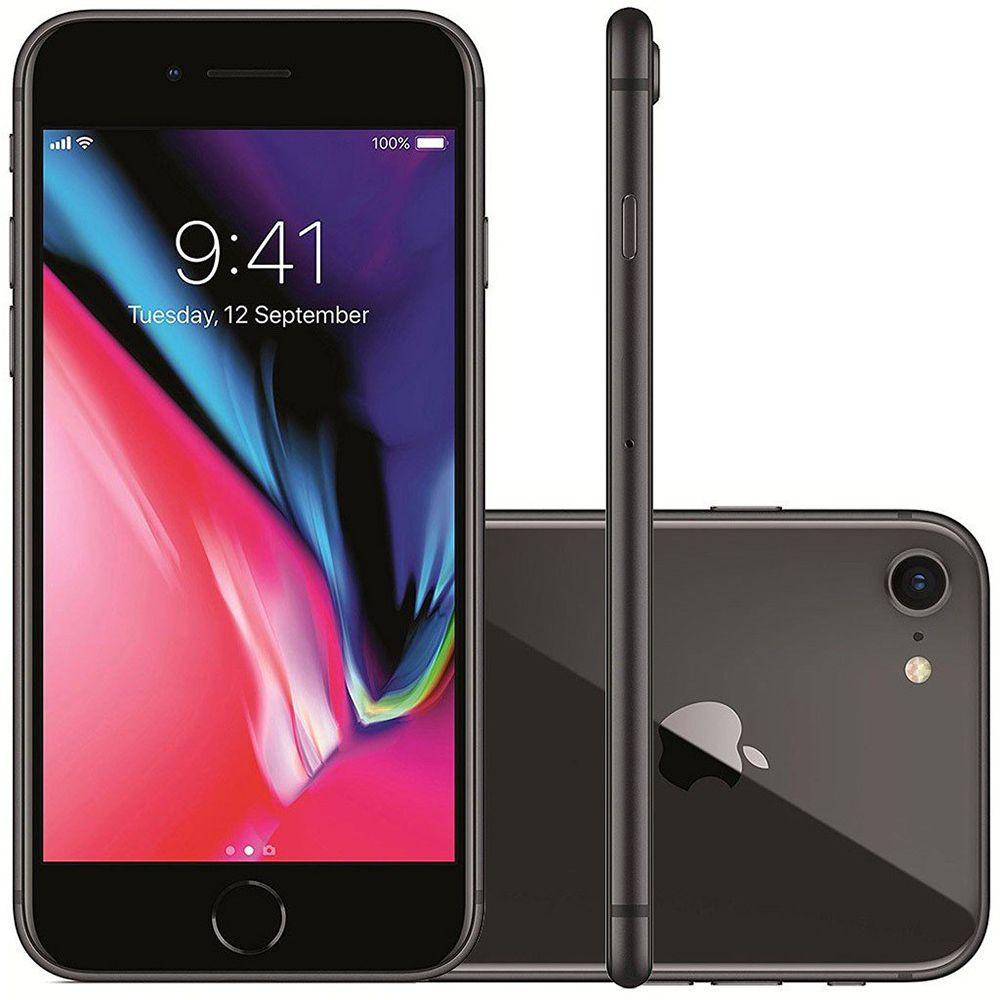 Smartphone Apple iPhone 8 256gb Tela 4,7' 12mp Original De Vitrine 2