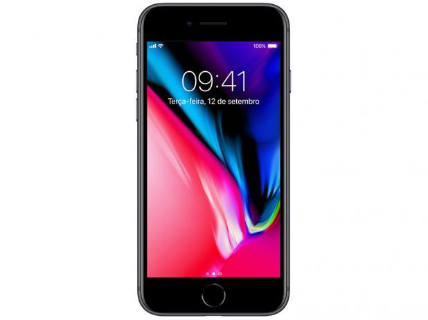 Smartphone Apple iPhone 8 64gb Tela 4,7' 12mp Original Anatel Vitrine