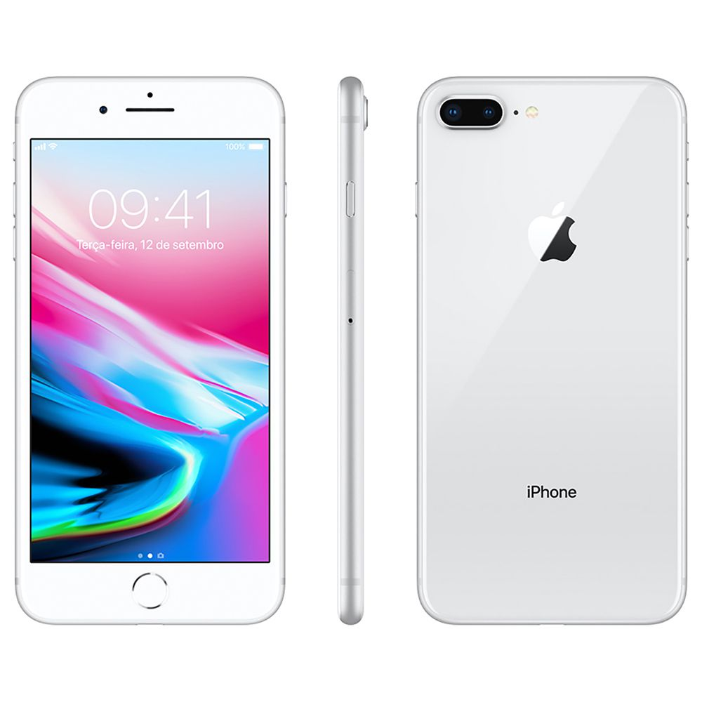 Smartphone Apple iPhone 8 Plus 256gb Tela 5,5' 12mp Outlet