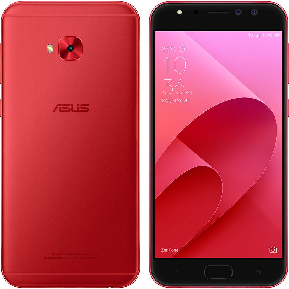 Smartphone Asus Zenfone 4 Selfie Pro Zd552kl Tela 5.5 32gb 13mp Vitrine