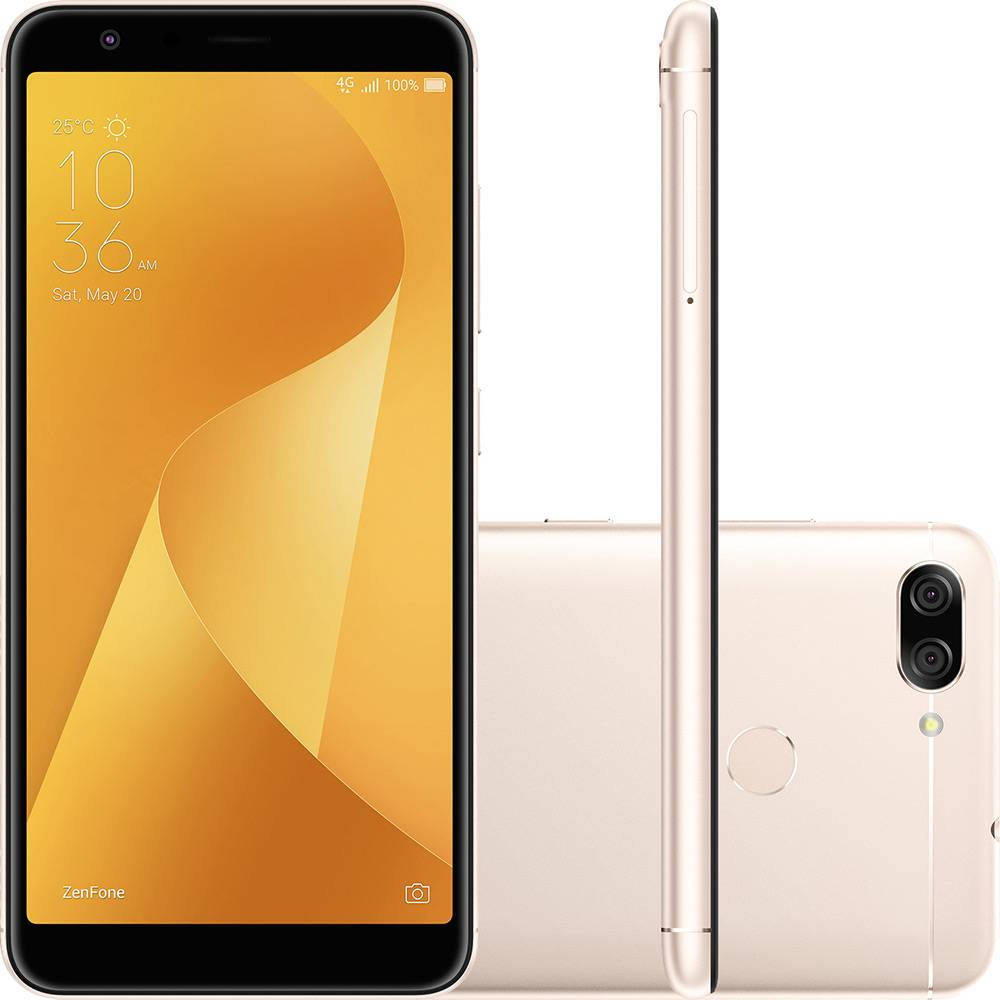 Smartphone Asus Zenfone Max Plus 32GB ZB570 Tela 5.7' Dual 4g 16mp Vitrine