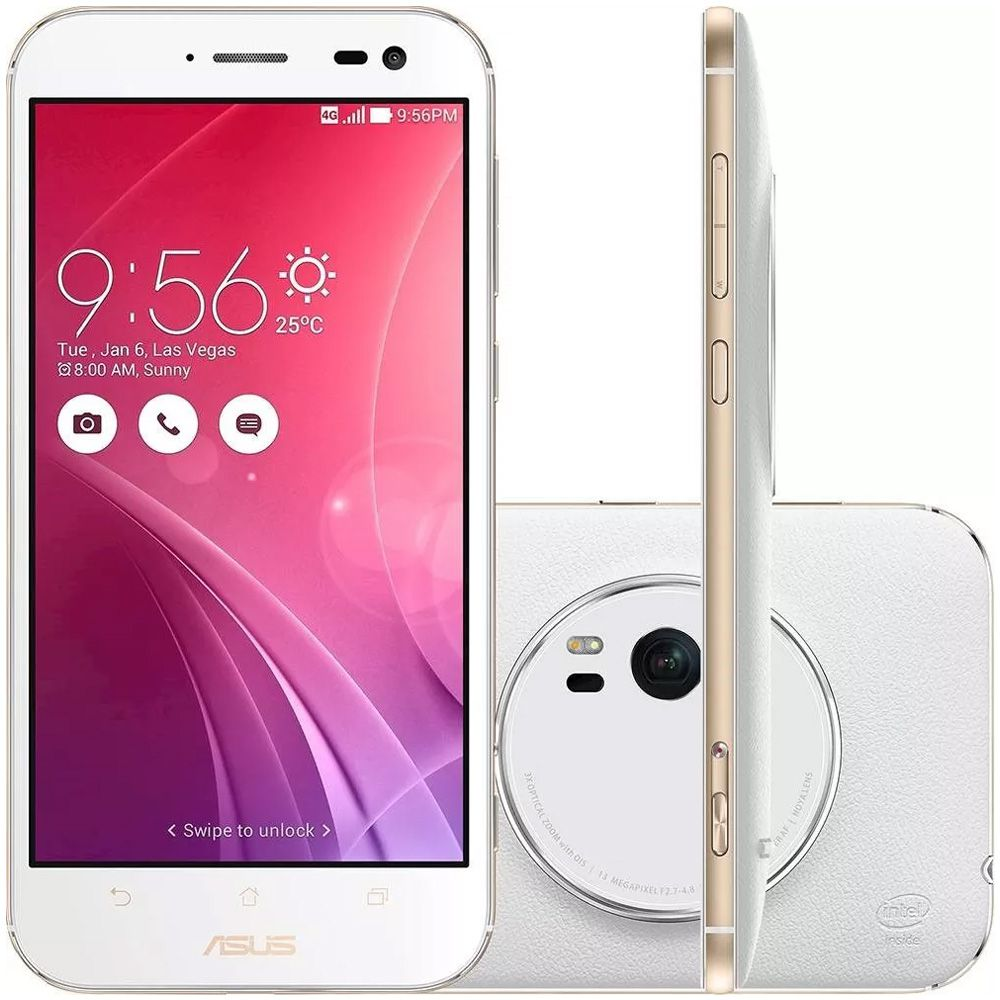 Asus Zenfone Zoom 32GB Zx551 4GB RAM Tela 5,5' 4G 13MP (Recondicionado)