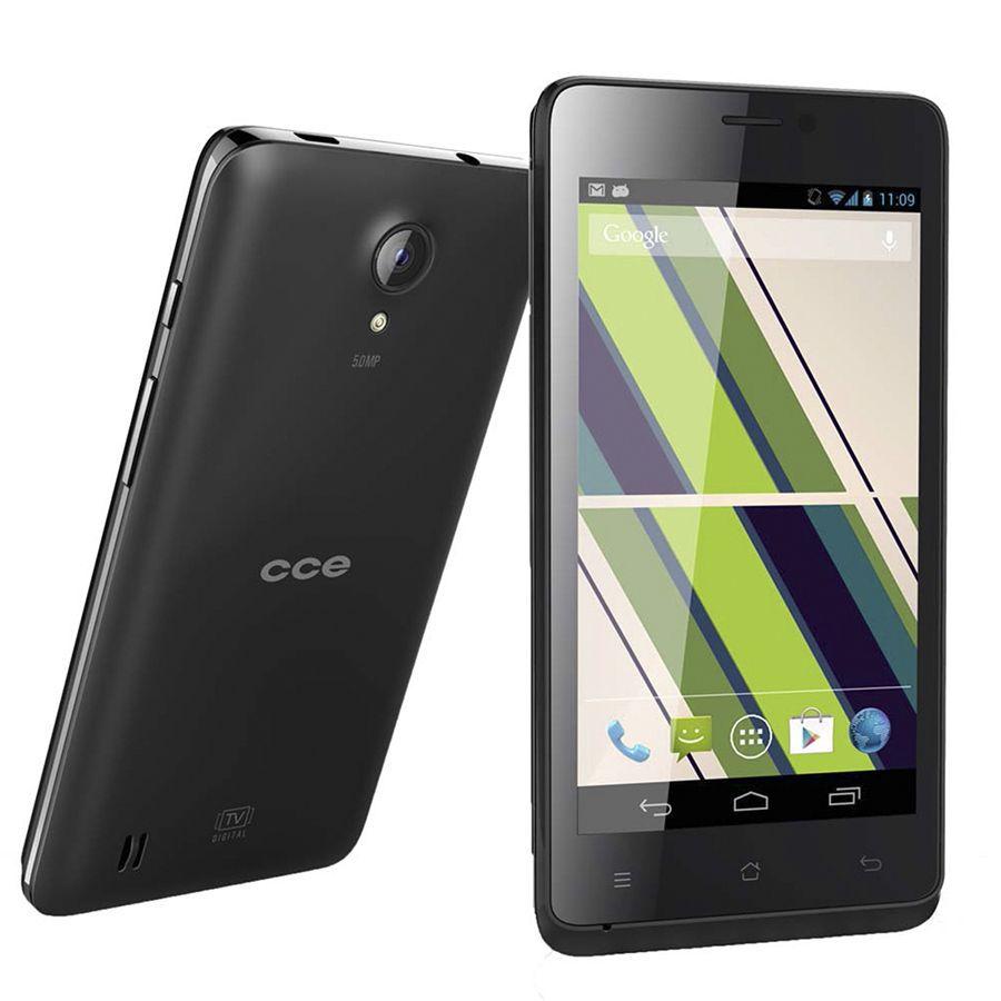 Smartphone CCE Motion Plus Sc452 Tela 4.5' 3G 5Mpx Tv Usado