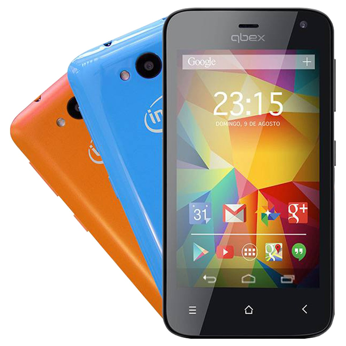 Smartphone Intel  X Go Hs011 Dual Chip 3g Android Novo