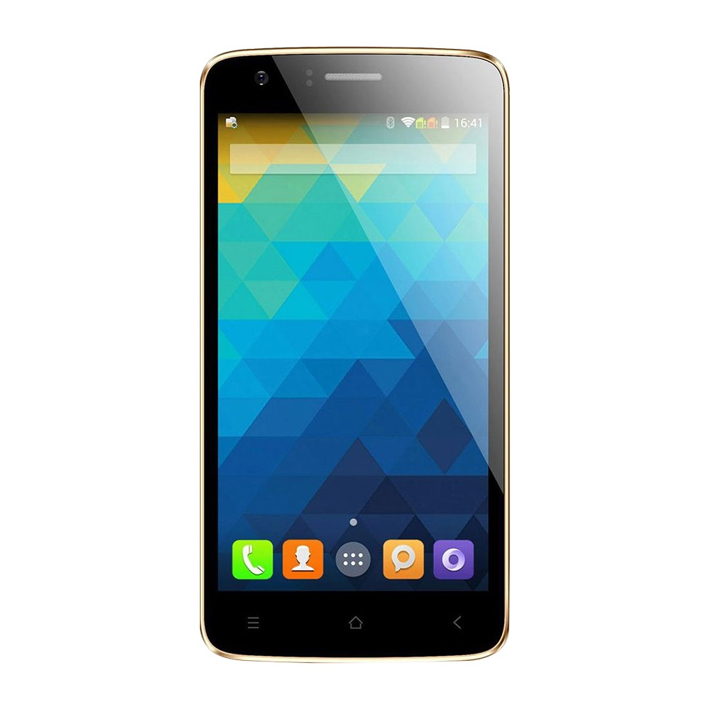 Smartphone Intel X-GOLD W509 Dual Tela 5.0 3g 16gb 8mp Dourado