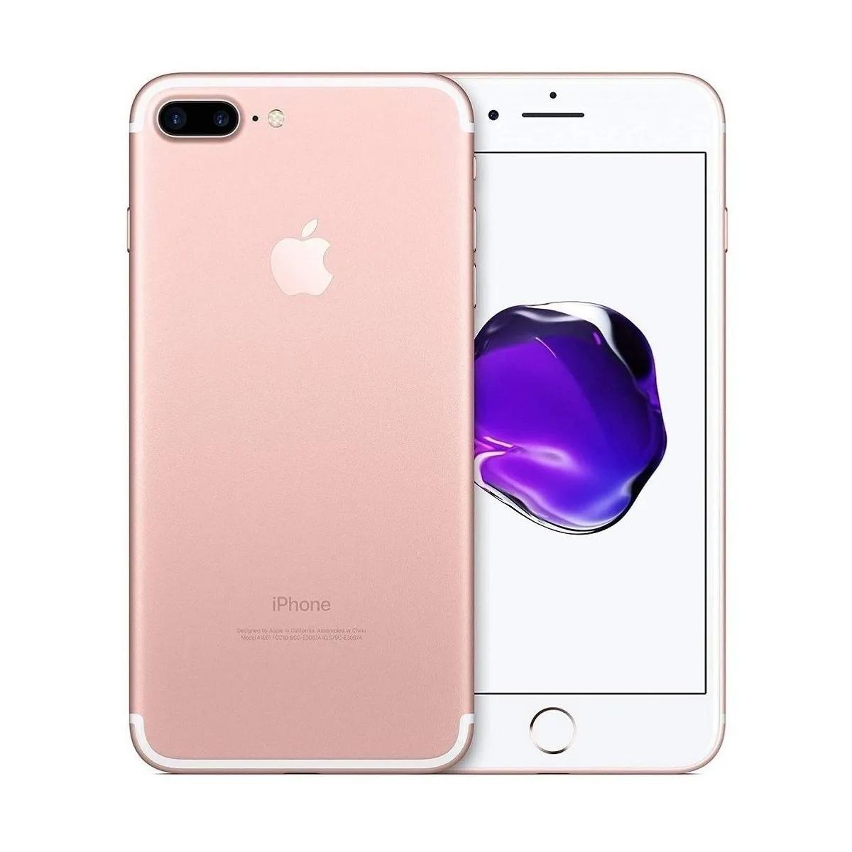 Smartphone iPhone 7 Plus 256gb Tela 5.5' 3gb Ram (Seminovo)