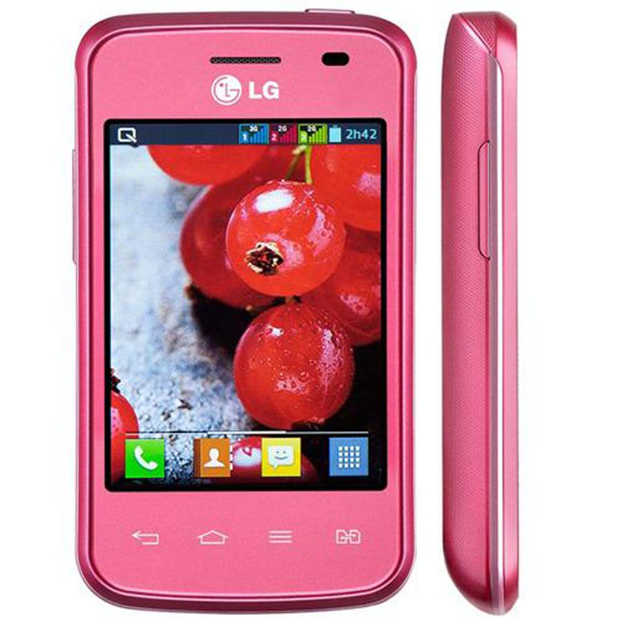 Smartphone Lg Optimus L1 2 Tri Chip E475 Tela 3.0' 3g 4gb 2mp Usado