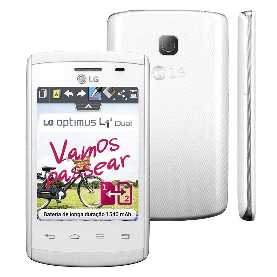 Smartphone Lg Optimus L1 E415 Dual Android 4.1 Usado