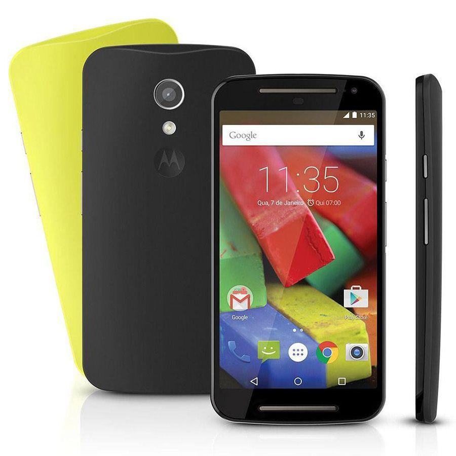 Smartphone Motorola Moto G2 Xt1078 4g Dual Tela 5.0 8mp 16gb Vitrine