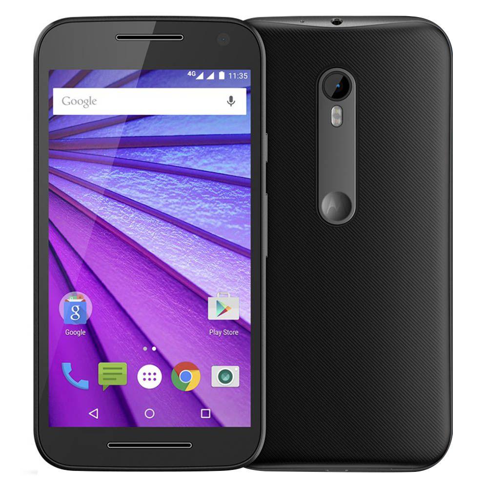 Smartphone Motorola Moto G3 3ªger XT1543 Tela de 5.0' 16GB Dual 4G 13MP Anatel (Novo Open Box)