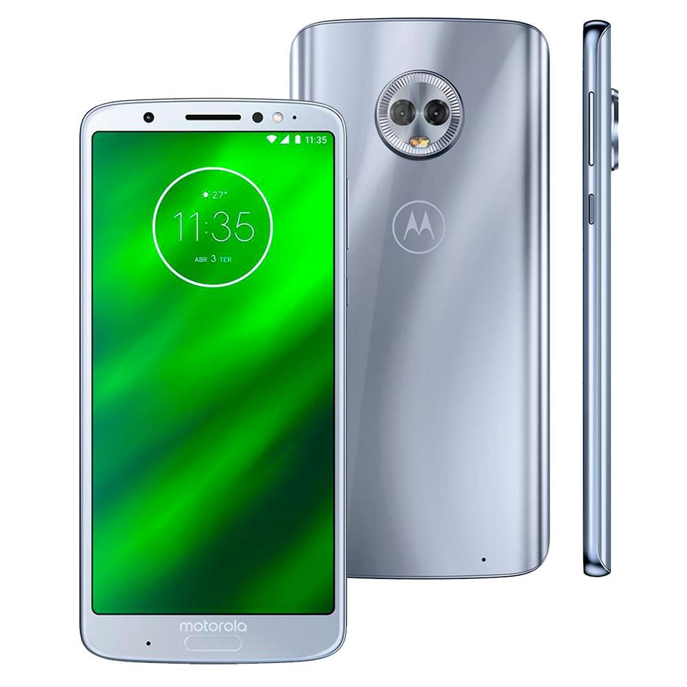 Motorola Moto G6 Plus Tv Xt1926 Tela 5,9' Dual 64gb 12mp+5mp