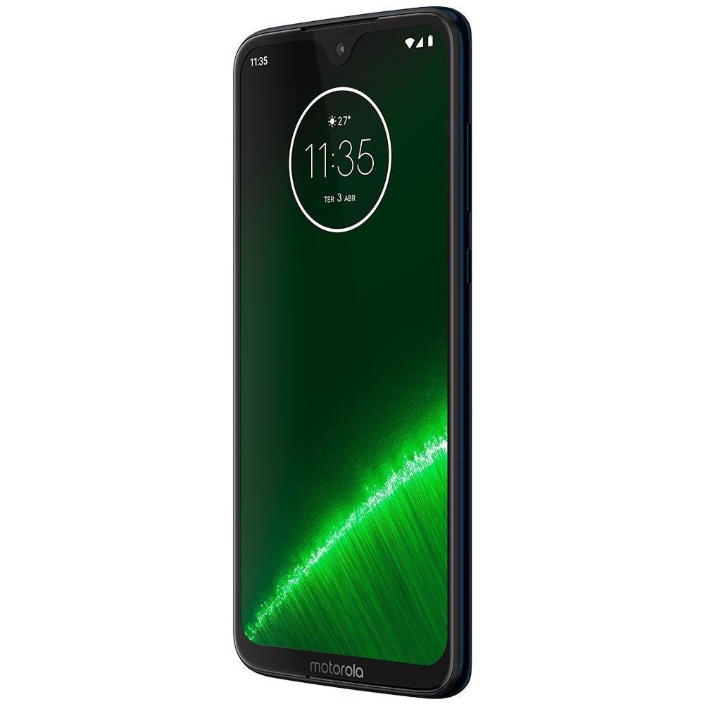 USADO: Smartphone Motorola Moto G7 Plus 64gb Xt1965 Tela 6.2' Dual 4g 16mp