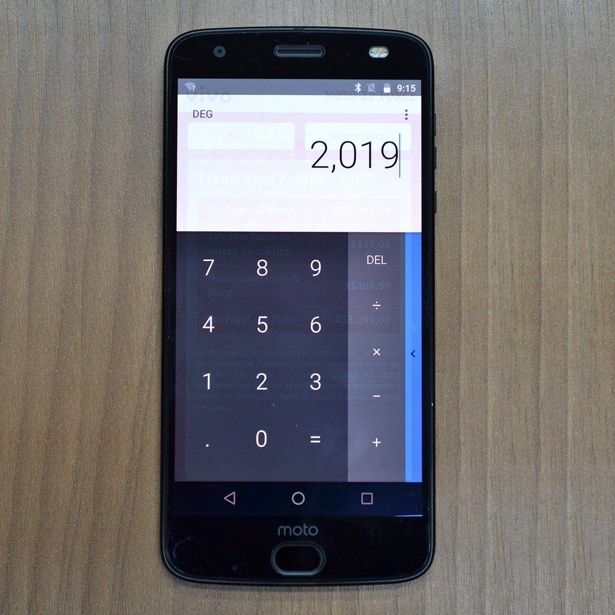 Smartphone Motorola Moto Z2 Force Xt1789 Power Edition 5.5 64gb (com burn in)